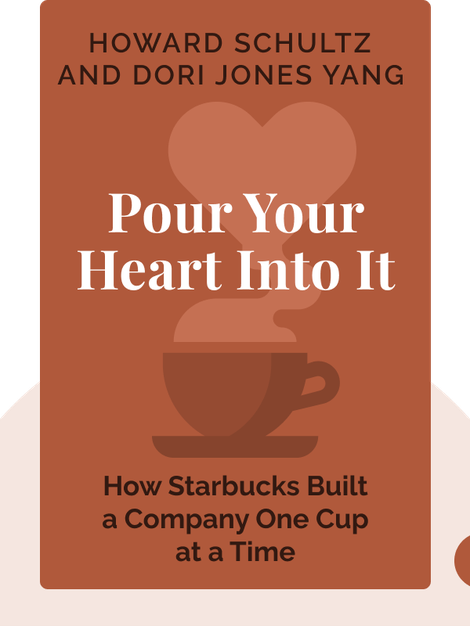 Pour Your Heart Into It: How Starbucks Built a Company One Cup at a Time by Howard Schultz and Dori Jones Yang