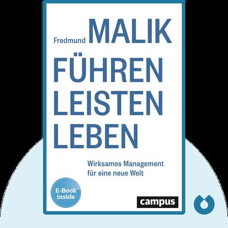 Führen Leisten Leben by Fredmund Malik