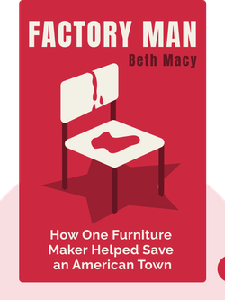 Factory Man: How One Furniture Maker Battled Offshoring, Stayed Local and Helped Save an American Town von Beth Macy