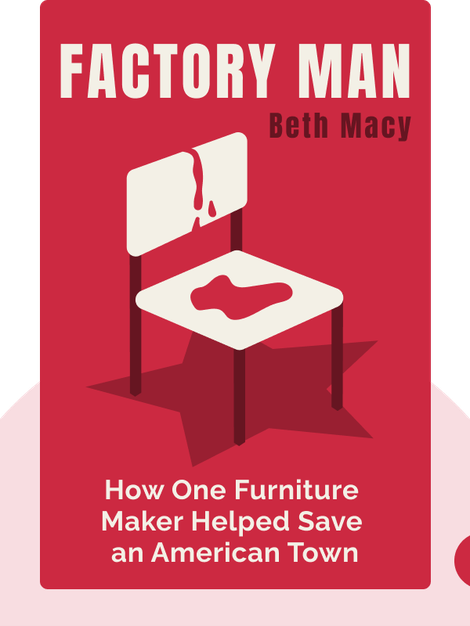 Factory Man: How One Furniture Maker Battled Offshoring, Stayed Local and Helped Save an American Town by Beth Macy