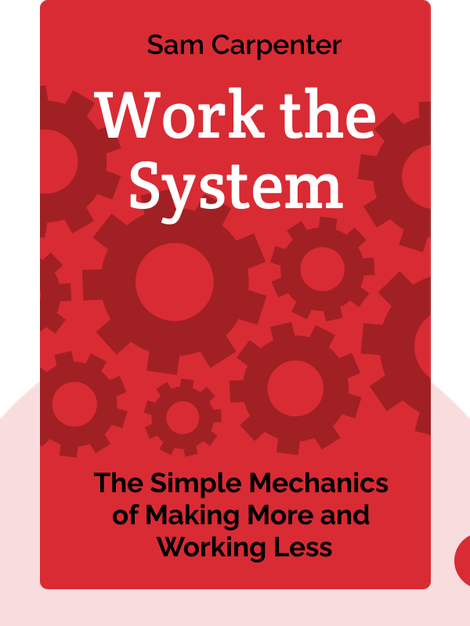 Work the System: The Simple Mechanics of Making More and Working Less by Sam Carpenter