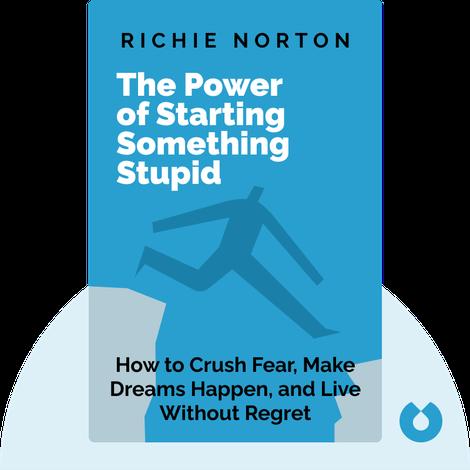 The Power of Starting Something Stupid von Richie Norton