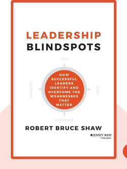 Leadership Blindspots: How Successful Leaders Identify and Overcome the Weaknesses that Matter von Robert Bruce Shaw