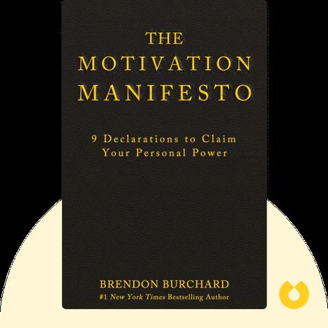 The Motivation Manifesto von Brendon Burchard
