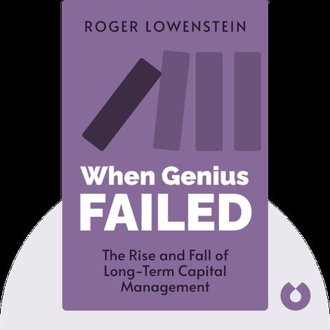 When Genius Failed von Roger Lowenstein
