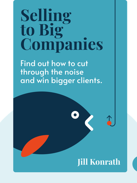 Selling To Big Companies von Jill Konrath