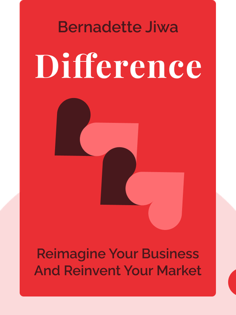 Difference: The One-Page Method for Reimagining Your Business and Reinventing Your Market by Bernadette Jiwa