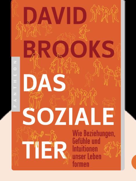 Das soziale Tier: Ein neues Menschenbild zeigt, wie Gefühle, Beziehungen und Intuitionen unser Leben formen by David Brooks