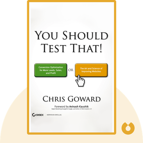 You Should Test That! by Chris Goward
