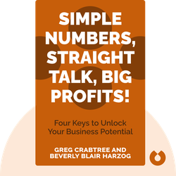 Simple Numbers, Straight Talk, Big Profits!: Four Keys to Unlock Your Business Potential von Greg Crabtree and Beverly Blair Harzog