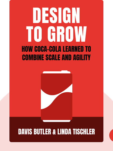 Design To Grow: How Coca-Cola Learned to Combine Scale and Agility and How You Can Too von Davis Butler & Linda Tischler