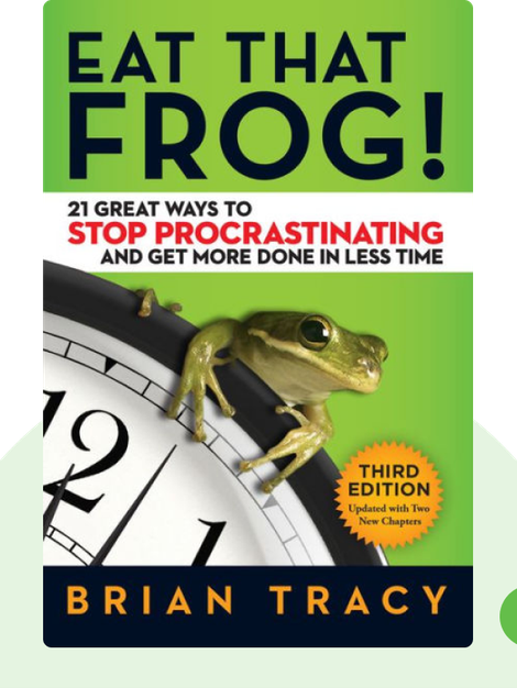 Eat That Frog!: 21 Great Ways to Stop Procrastinating and Get More Done in Less Time von Brian Tracy