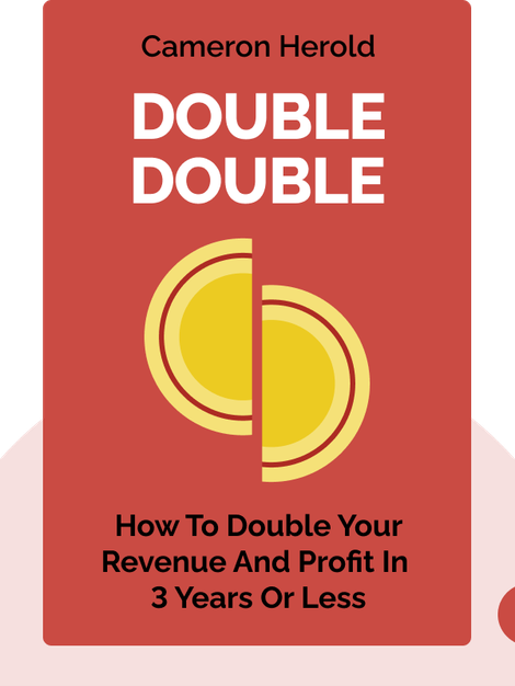 Double Double: How to Double Your Revenue and Profit in 3 Years or Less von Cameron Herold