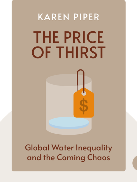 The Price of Thirst: Global Water Inequality and the Coming Chaos by Karen Piper