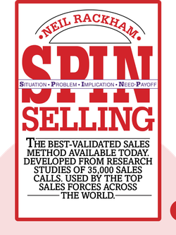 SPIN Selling: The Best-Validated Sales Method Available Today von Neil Rackham