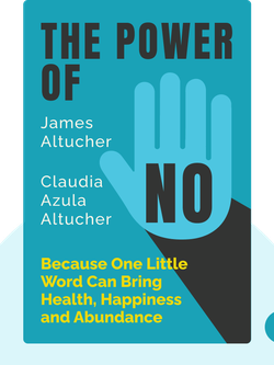 The Power of No: Because One Little Word Can Bring Health, Happiness and Abundance by James Altucher and Claudia Azula Altucher