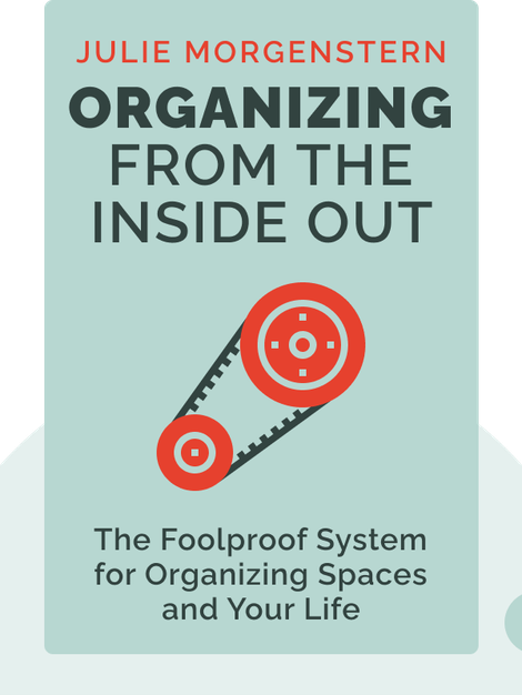 Organizing From The Inside Out: The Foolproof System for Organizing Your Home, Your Office and Your Life by Julie Morgenstern