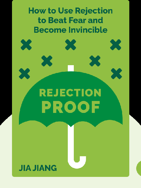 Rejection Proof: How I Beat Fear and Became Invincible Through 100 Days of Rejection by Jia Jiang