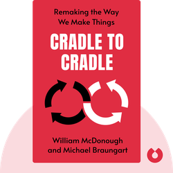 Cradle to Cradle: Remaking the Way We Make Things by William McDonough and Michael Braungart