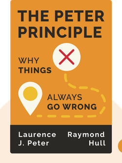 The Peter Principle: Why Things Always Go Wrong von Laurence J. Peter and Raymond Hull