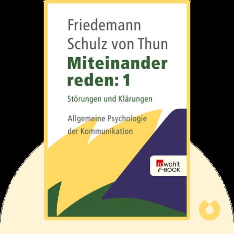 Miteinander reden: Band 1 von Friedemann Schulz von Thun