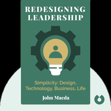 Redesigning Leadership von John Maeda
