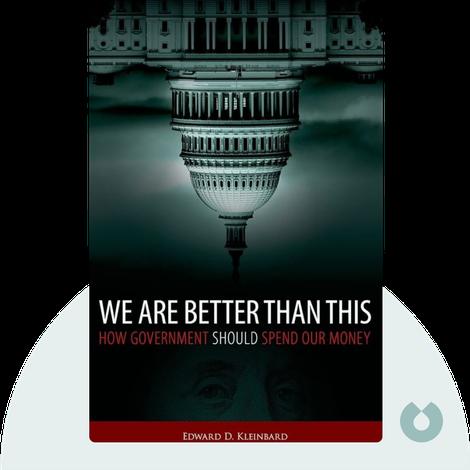 We Are Better Than This von Edward D. Kleinbard