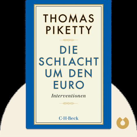 Die Schlacht um den Euro by Thomas Piketty