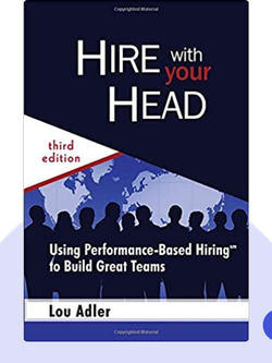 Hire With Your Head: Using Performance-Based Hiring℠ to Build Great Teams von Lou Adler