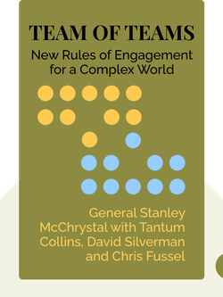 Team of Teams: New Rules of Engagement for a Complex World von General Stanley McChrystal with Tantum Collins, David Silverman and Chris Fussel