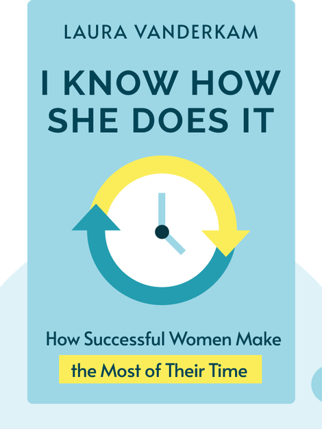 I Know How She Does It: How Successful Women Make the Most of Their Time by Laura Vanderkam