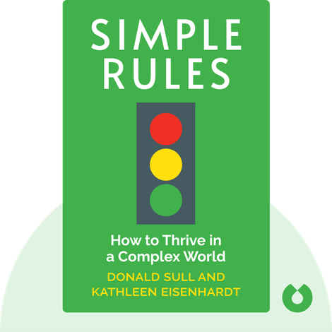 Simple Rules by Donald Sull and Kathleen Eisenhardt