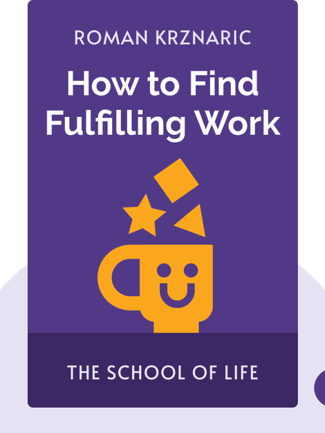 How to Find Fulfilling Work: The School of Life von Roman Krznaric
