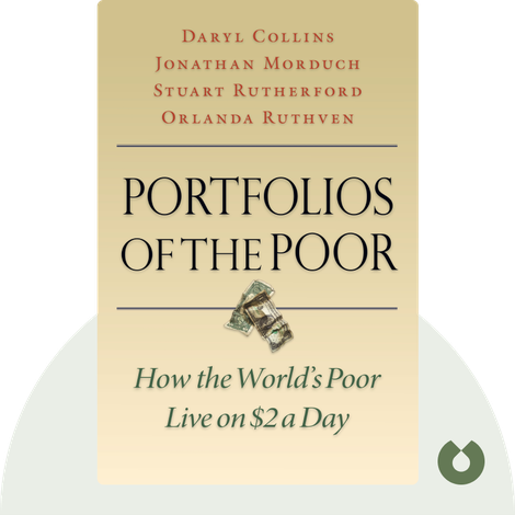 Portfolios of the Poor by Daryl Collins, Jonathan Morduch, Stuart Rutherford, Orlanda Ruthven