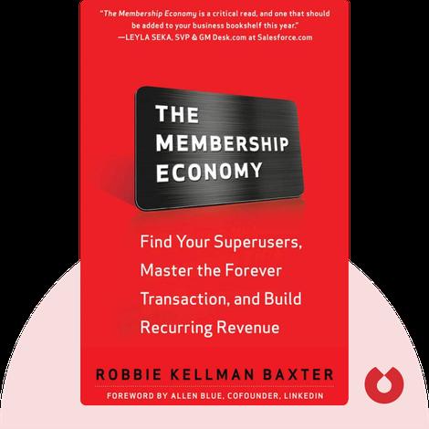 The Membership Economy by Robbie Kellman Baxter