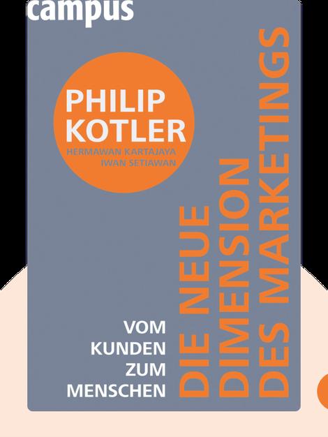 Die neue Dimension des Marketings: Vom Kunden zum Menschen von Philip Kotler, Hermawan Kartajaya, Iwan Setiawan