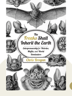 The Freaks Shall Inherit the Earth: Entrepreneurship For Weirdos, Misfits and World Dominators by Chris Brogan