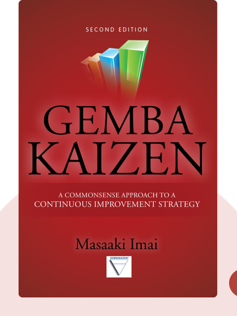 Gemba Kaizen: A Common Sense Approach to a Continuous Improvement Strategy by Masaaki Imai