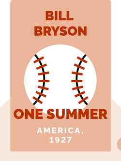 One Summer: America, 1927 von Bill Bryson
