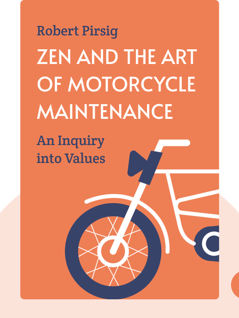 Zen and the Art of Motorcycle Maintenance: An Inquiry into Values by Robert Pirsig