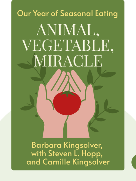 Animal, Vegetable, Miracle: Our Year of Seasonal Eating von Barbara Kingsolver, with Steven L. Hopp, and Camille Kingsolver