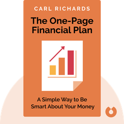 The One-Page Financial Plan by Carl Richards