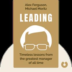 Leading von Alex Ferguson, Michael Moritz