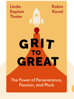Grit to Great: How Perseverance, Passion, and Pluck Take You from Ordinary to Extraordinary von Linda Kaplan Thaler & Robin Koval