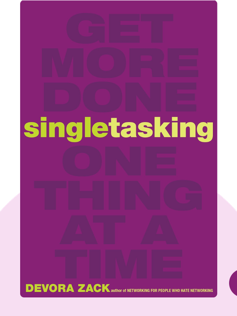 Singletasking: Get More Done One Thing at a Time by Devora Zack