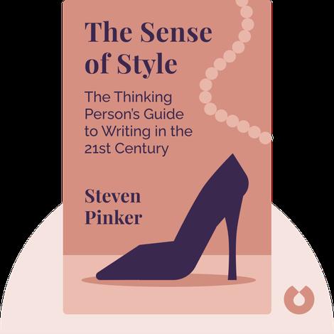 The Sense of Style by Steven Pinker