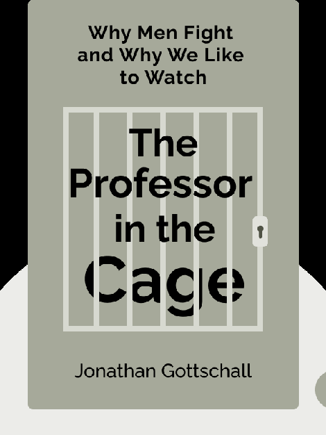The Professor in the Cage: Why Men Fight and Why We Like to Watch by Jonathan Gottschall