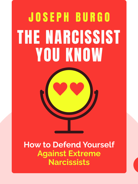 The Narcissist You Know: Defending Yourself Against Extreme Narcissists in an All-About-Me Age by Joseph Burgo