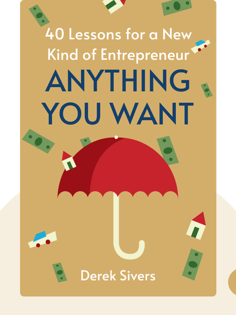 Anything You Want: 40 Lessons for a New Kind of Entrepreneur by Derek Sivers