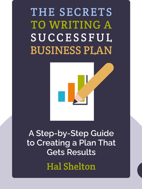 The Secrets to Writing a Successful Business Plan: A Pro Shares a Step-by-Step Guide to Creating a Plan That Gets Results by Hal Shelton